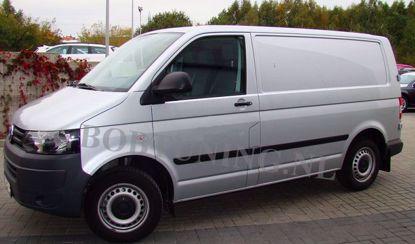 Afbeeldingen van Stootlijsten Volkswagen Transporter T5 2004-2014