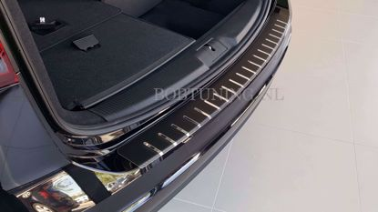 Picture of Carbon rvs bumperbescherming Citroen C5 (4deur) 2008-2017