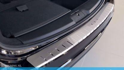 Afbeeldingen van Rvs bumperbescherming Toyota corolla (kombi) 2019-
