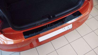 Picture of Zwart rvs bumperbescherming Citroen c5 (kombi) 2008-2017