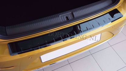 Afbeeldingen van Zwart rvs bumperbescherming Fiat tipo (kombi) 2015-