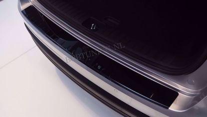 Afbeeldingen van Zwart rvs bumperbescherming Ford edge 2016-2018