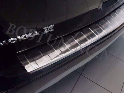 Afbeeldingen van Rvs bumperbescherming Opel mokka x 2016-2019