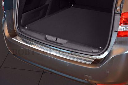 Afbeeldingen van Rvs bumperbescherming Peugeot 308sw (kombi) 2013-2017