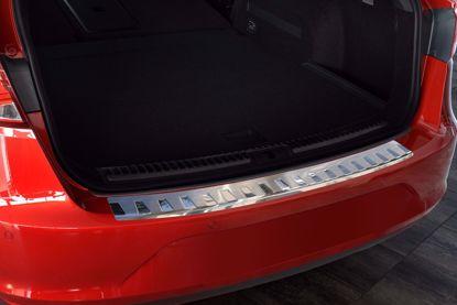 Afbeeldingen van Rvs bumperbescherming Seat leon st cupra 2014-