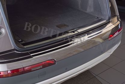 Afbeeldingen van Rvs bumperbescherming Audi Q7 2015-