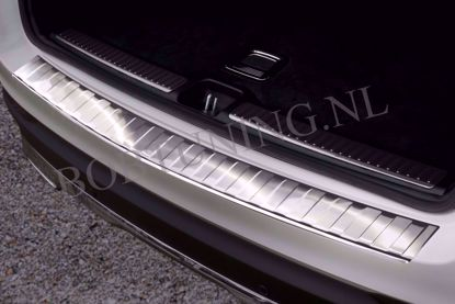 Afbeeldingen van Rvs bumperbescherming Mercedes Gle w167 2019-