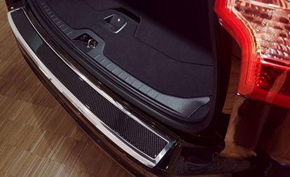 Afbeeldingen van Rvs carbon fiber bumperbescherming Volvo Xc60 2013-2017
