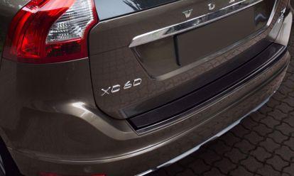 Afbeeldingen van Rvs grafiet carbon fiber bumperbescherming Volvo Xc60 2013-2017