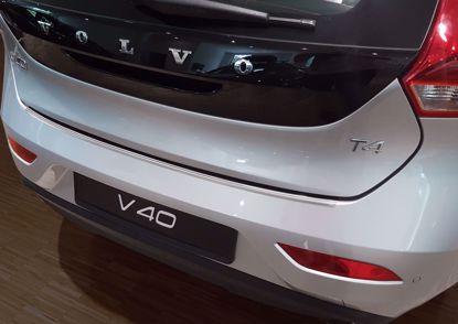 Afbeeldingen van Rvs bumperbescherming Volvo V40 2016-