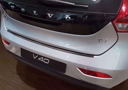Afbeeldingen van Rvs grafiet bumperbescherming Volvo V40 2016-