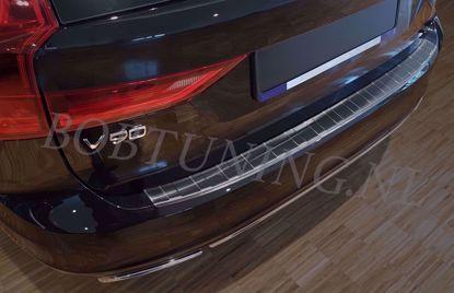 Afbeeldingen van Rvs grafiet  bumperbescherming Volvo V90 2016-