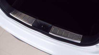 Afbeeldingen van Rvs binnen bumperbescherming Nissan Juke 2010-2019
