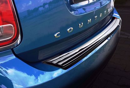 Picture of Zwart Rvs bumperbescherming Mini Countryman F60 (facelift) 2017-
