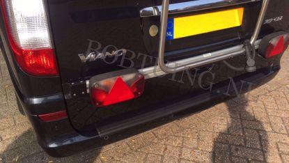 Afbeeldingen van Set kunststof bumperbescherming instaplijsten Mercedes vito w639 2003-2013