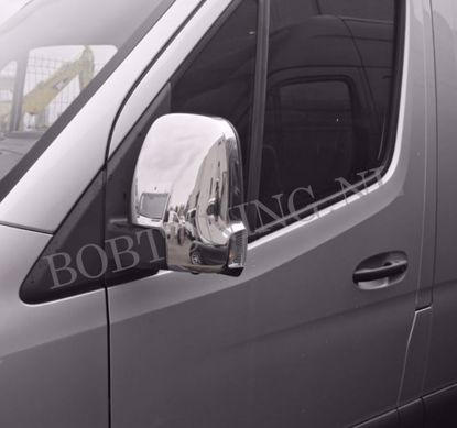 Picture of Rvs spiegelkappen Mercedes Sprinter w907 2018-