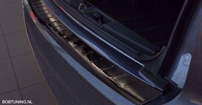 Afbeeldingen van Grafiet rvs bumperbescherming Peugeot 4007  2007-2012