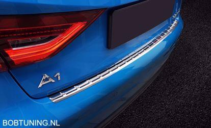 Afbeeldingen van Rvs bumperbescherming Audi A1 GB Sportback 2018-