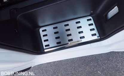 Afbeeldingen van Rvs instaplijsten Fiat ducato 2014-