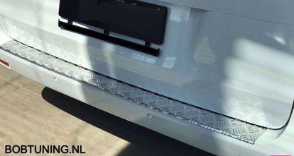 Afbeeldingen van Aluminium traanplaat bumperbescherming Mercedes Vito w447 2014-2019 | 2020+