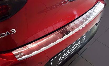Afbeeldingen van Rvs bumperbescherming Mazda 3 (5 deur) 2019-