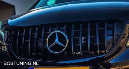 Picture of Grill AMG GT GTR style Mercedes V-Klasse w447 2014-05.2019 Panamericana zwart