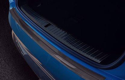Afbeeldingen van Grafiet rvs bumperbescherming Audi E-Tron 2018-