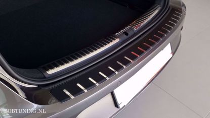 Afbeeldingen van Carbon rvs bumperbescherming Suzuki Swace (wagon) 2020-