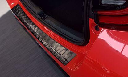 Afbeeldingen van Rvs grafiet bumperbescherming Toyota Yaris (HB 5 deur) 2020+