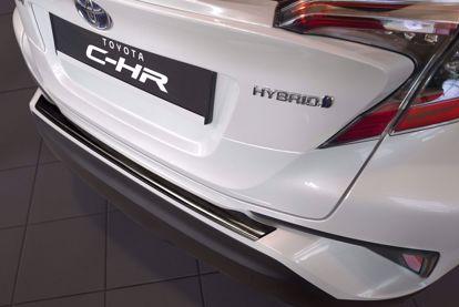 Afbeeldingen van Rvs Grafiet bumperbescherming Toyota C-HR 2016-