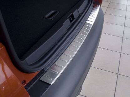 Afbeeldingen van Rvs bumperbescherming Renault Captur 2012-2019
