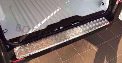 Afbeeldingen van Aluminium traanplaat bumperbescherming Fiat Talento 2015-