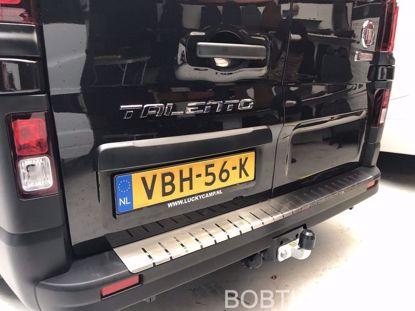 Afbeeldingen van Rvs bumperbescherming Fiat Talento 2015-
