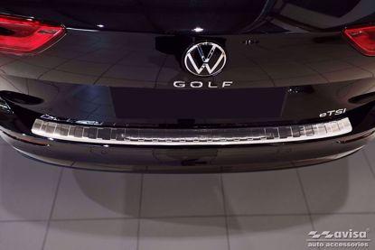 Afbeeldingen van Rvs bumperbescherming Volkswagen golf 8 (variant) 2020+