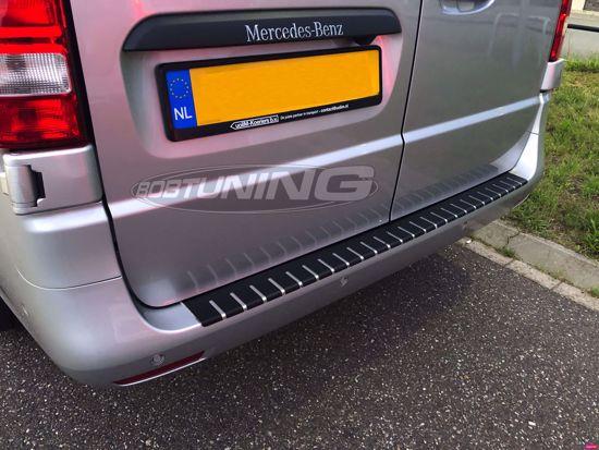 Afbeeldingen van Carbon rvs bumperbescherming Mercedes Vito W447 2014-2019 | 2020+