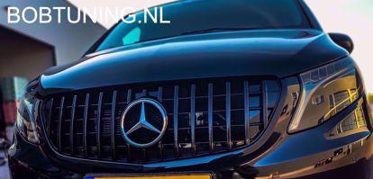 Afbeeldingen van Grill AMG GT GTR style Mercedes Vito w447 2014-2019 Panamericana zwart