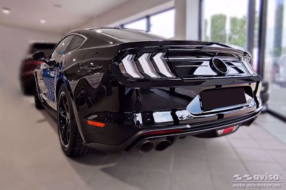 Picture of Grafiet rvs bumperbescherming Ford Mustang (coupe) 2015-2017 | 2017+