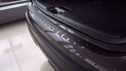 Afbeeldingen van Carbon rvs bumperbescherming Nissan Qashqai 2021-