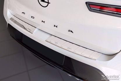 Afbeeldingen van Rvs bumperbescherming Opel Mokka 2020-
