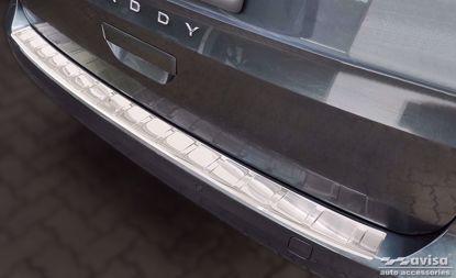 Afbeeldingen van Rvs bumperbescherming Volkswagen Caddy | Cargo | Furgon 2020-