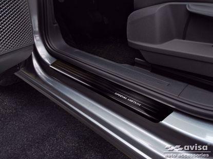 Afbeeldingen van Grafiet Rvs instaplijsten Volkswagen Caddy | Cargo | Furgon 2020-