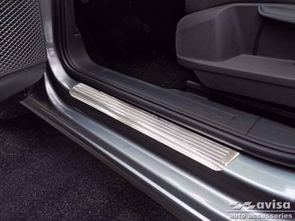 Afbeeldingen van Rvs instaplijsten Volkswagen Caddy | Cargo | Furgon 2020-